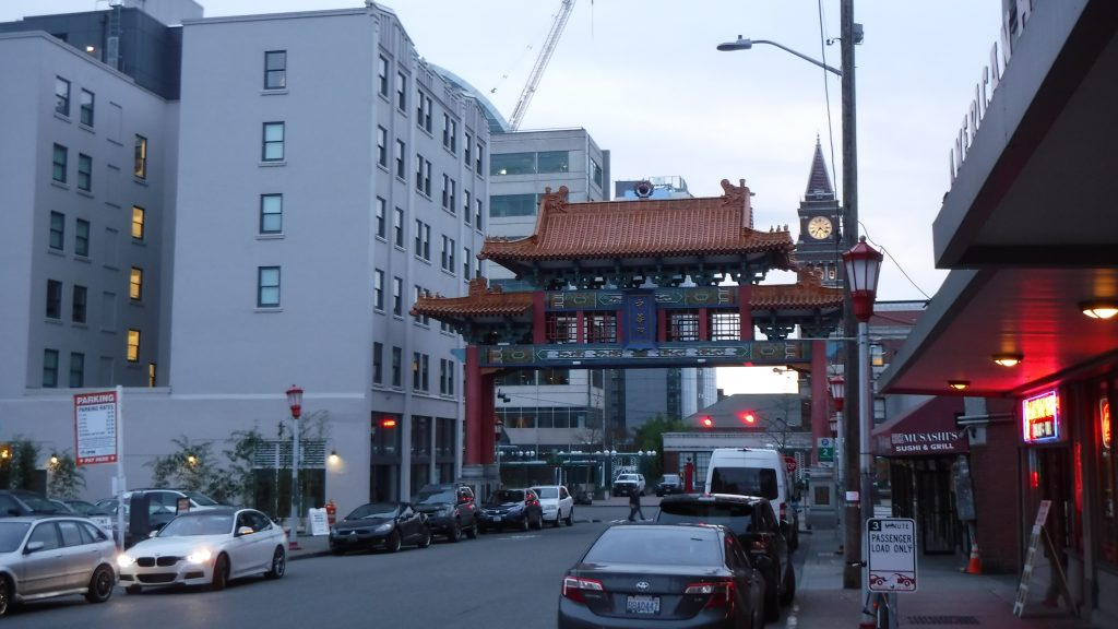Chinatown in Seattle