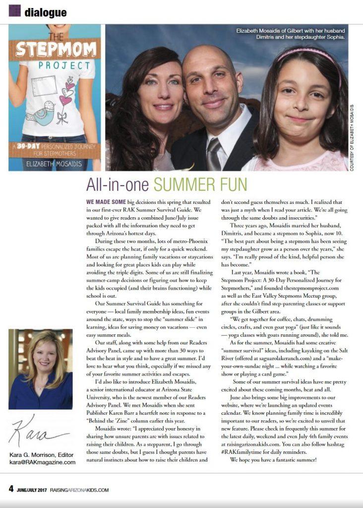 Raising Arizona Kids magazine