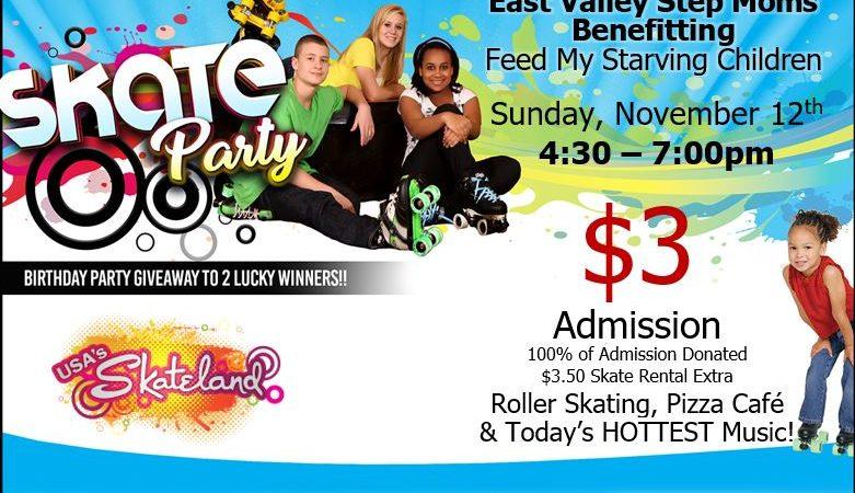 Skateland Fundraiser