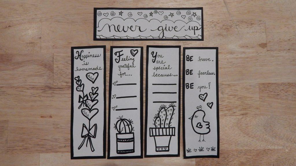gratitude bookmarks