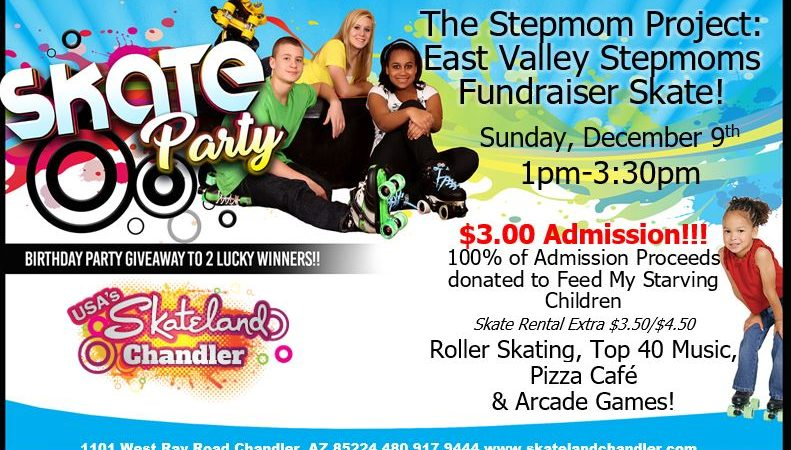 Stepfamily Skate Party