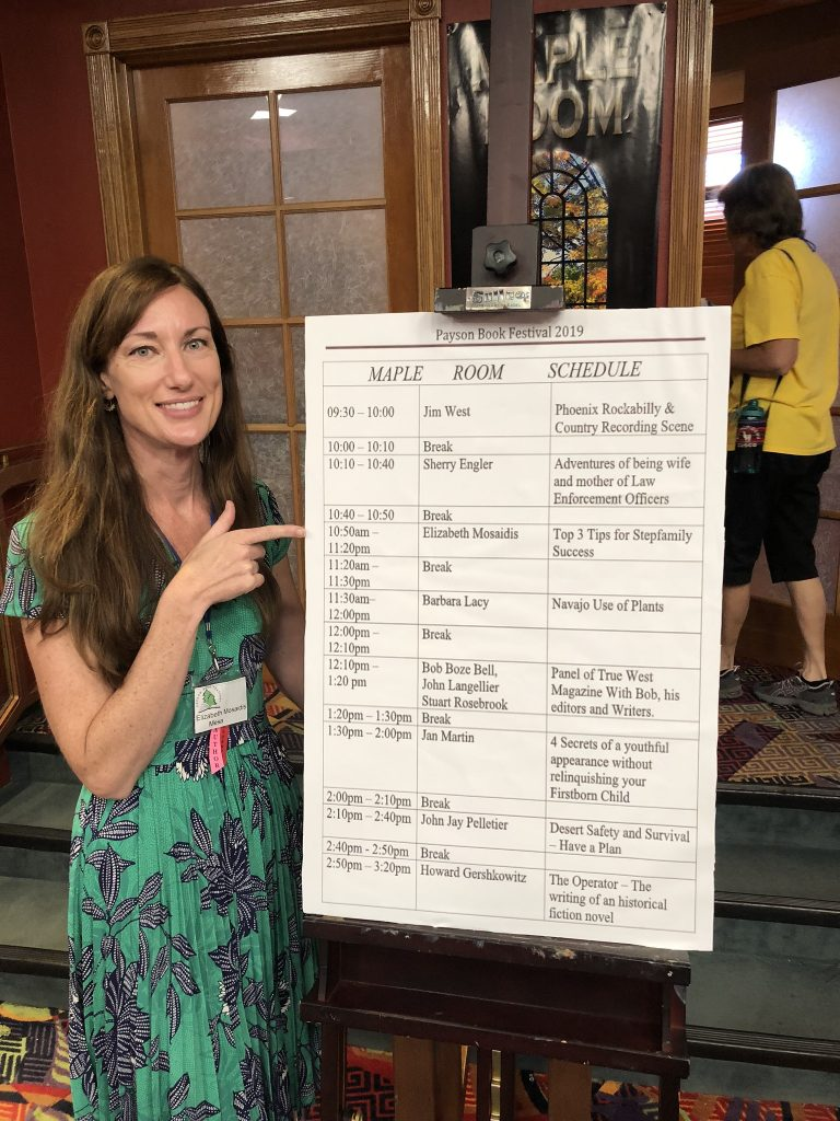 Top 3 Tips of Stepfamily Success Speaker at the Payson Book Festival