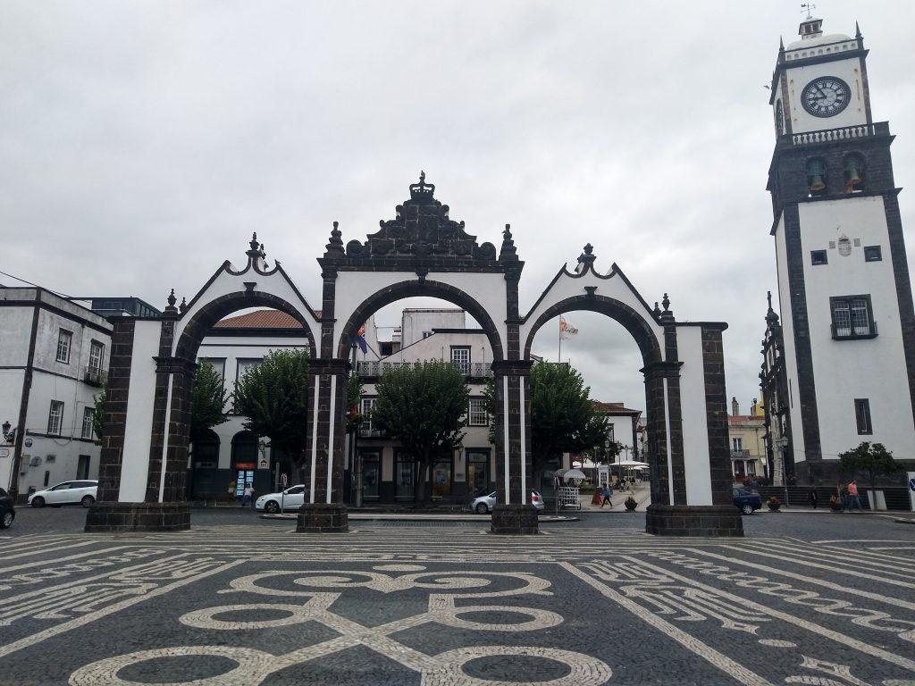 The Old City Gates in Ponta Delgada