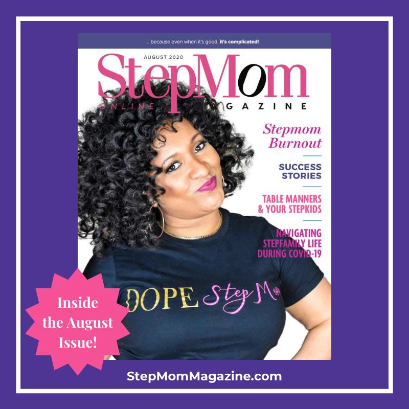 August issue of StepMom Magazine